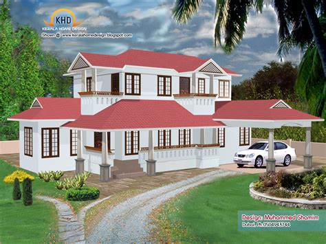 kerala home design and floor plans 5 beautiful home