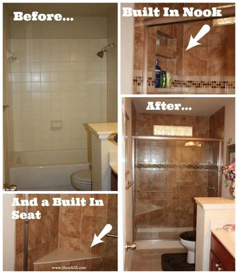 bathroom tub to shower remodel 12 budget friendly diy remodeling projects for your bathroom