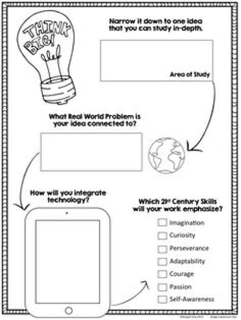 1000 Ideas About Genius Hour On Pinterest Passion Project Project Based Learning And Students Project Based Learning Planning Template For Students