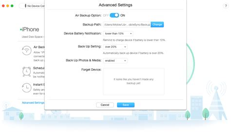 how to backup iphone wifi regularly and automatically