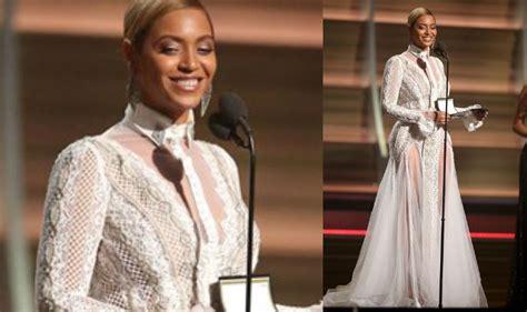 Beyonce Grammy Wardrobe by Grammy Awards 2016 Beyonc 233 Knowles