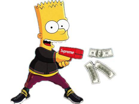 Bart Simpsons X Supreme bart simpsons rich supreme 420 homer bartsimpso