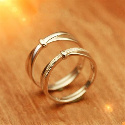 925 Sterling Silver Engraved Ring 925 sterling silver simple opening engraved rings