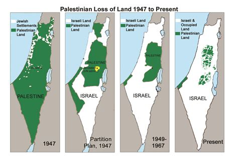 map of israel and palestine palestine history map