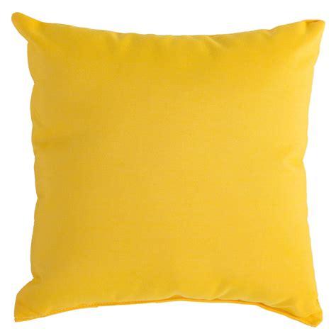Throw Pillows Yellow by Sunflower Yellow Sunbrella Outdoor Throw Pillow Dfohome