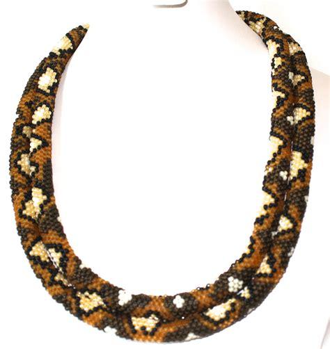 tubular beading stitches seed bead pattern tubular peyote stitch for back snake