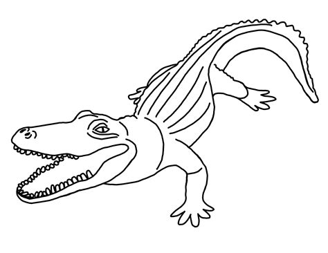 Printable Alligator Coloring Pages Coloring Me Alligator Coloring Pages