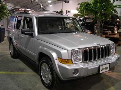 Value Of 2006 Jeep Commander File 2006 Jeep Commander Jpg Wikimedia Commons