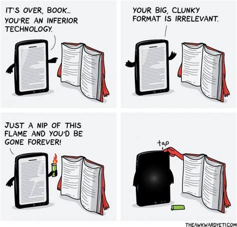 Five Get Into A Fix Ebook E Book ebook reader vs book