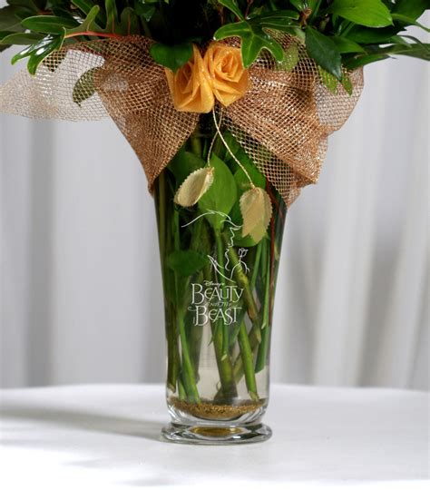 And The Beast Flower Vase by Disney Park News Valentines Day Ideas At Disney