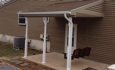 Patio Overhangs by Porch Overhang Paul Bauder Construction