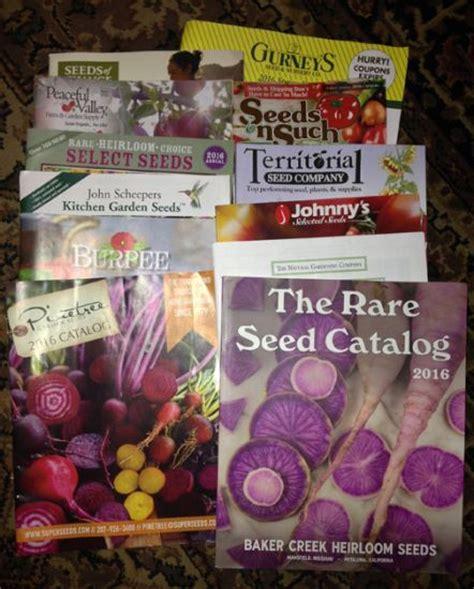 garden katalog the vegetable seeds arrived organic gardening
