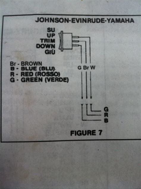 boat trim switch not working 1982 evinrude 75hp tilt trim wiring help page 1