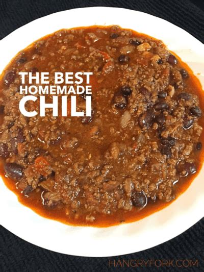 best chili recipe the best chili recipe hangry fork