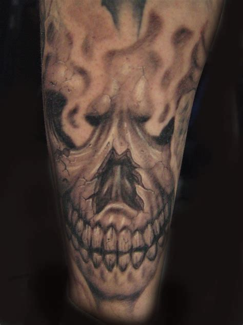 smoke skull tattoo designs skull skeleton by kidnamedemcee on deviantart