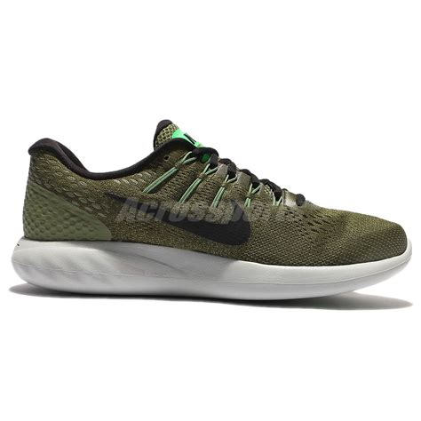 Nike Lunarglide Made In nike lunarglide 8 viii green black running shoes