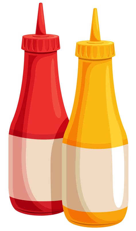 ketchup clipart ketchup and mustard png transparent ketchup and mustard