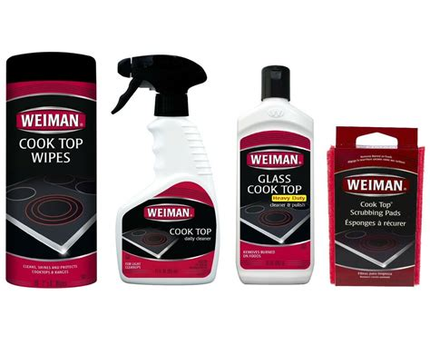 glass cooktop cleaner weiman glass ceramic cook top cleaner wipes