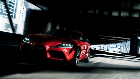 toyota gr supra    wallpapers hd wallpapers id