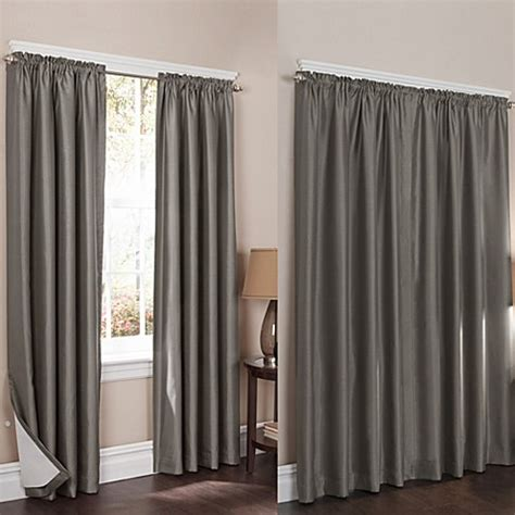 Noise Reducing Window Curtains Wraparound Room Darkening Noise Reducing 2 Pack Window Curtain Panels Bed Bath Beyond