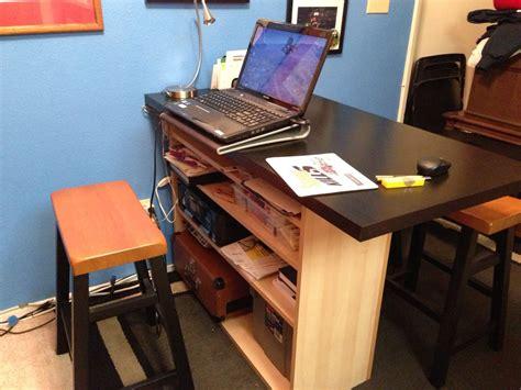 bureau bébé ikea breakfast bar home office desk ikea hackers ikea hackers