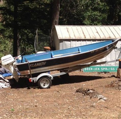 klamath boat bimini top 2008 14 foot klamath deluxe power boat for sale in douglas