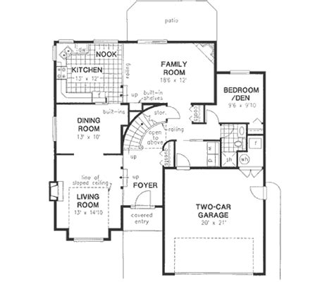 2000 sq ft house plans craftsman style house plan 4 beds 3 baths 2000 sq ft