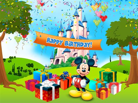 mickey mouse happy birthday images mickey mouse birthday quotes quotesgram