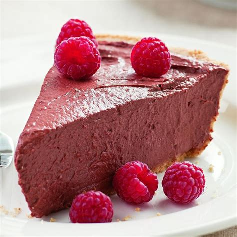 raspberry chocolate chocolate raspberry tofu pie recipe eatingwell
