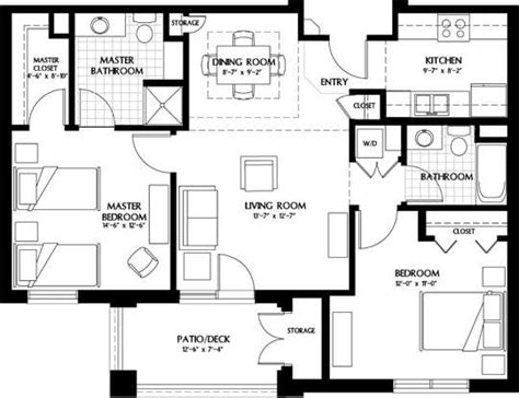 luxury apartment plans beautiful luxury two bedroom house plans new home plans design