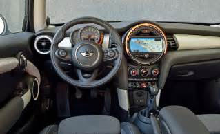 Interior Of Mini Cooper Car And Driver
