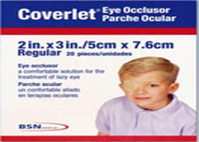 coverlet eye occlusor coverlet 46430 eye occlusor fabric bandage regular 2 quot x