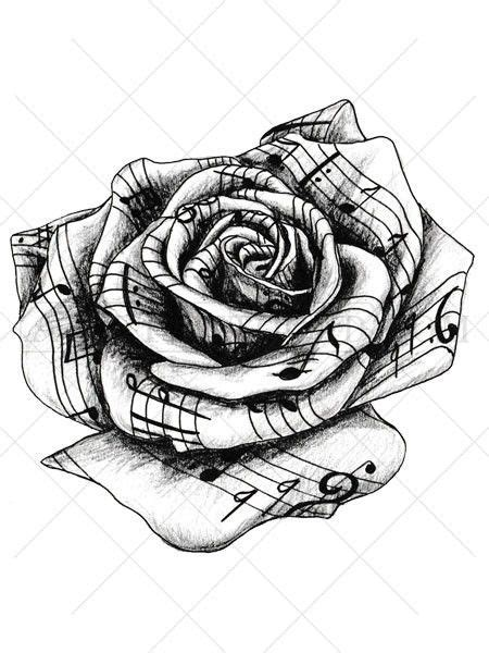 detailed rose tattoos this highly detailed black and white temporary