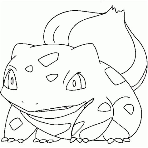 pokemon coloring pages bulbasaur free coloring pages of bulbasaur color page