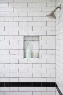White Subway Tiles To Da Loos White Subway Tiles With Grout Do We Like It