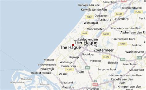 netherlands the hague map the hague location guide