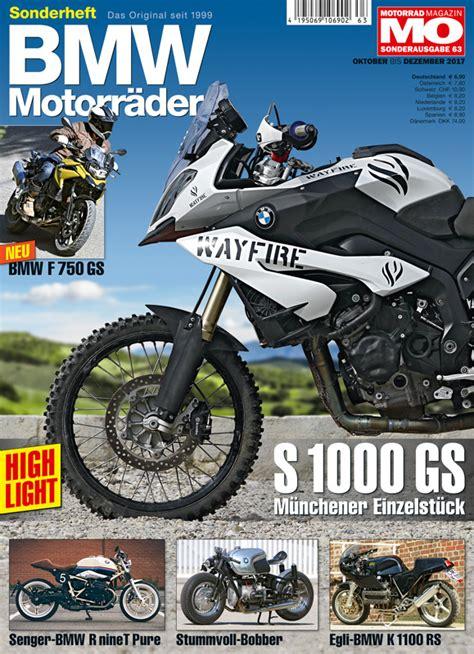 Motorrad Ausgabe 24 by Bmw Motorr 228 Der Ausgabe 63 Motorrad Magazin Mo