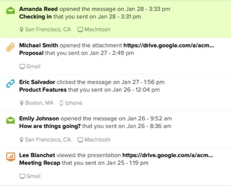 how does yesware tracking work yesware blog yesware blog 12 exles of a follow up email template to steal right