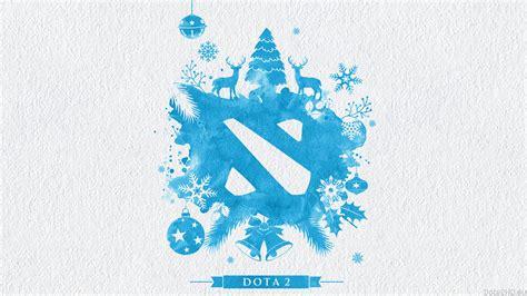 dota 2 blue wallpaper dota 2 christmas logo wallpaper blue dota 2 wallpapers