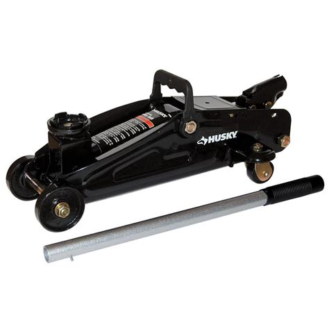 Home Depot Window Blinds Husky 2 Ton Hydraulic Trolley Jack Mpl4136 Blk The Home