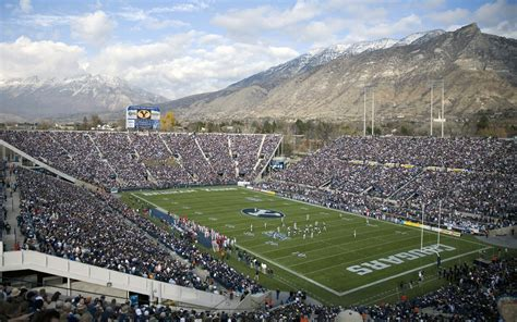 Byu Mba Salt Lake Center by Lavell Edwards Stadium I Ve Performed On That Field Quite