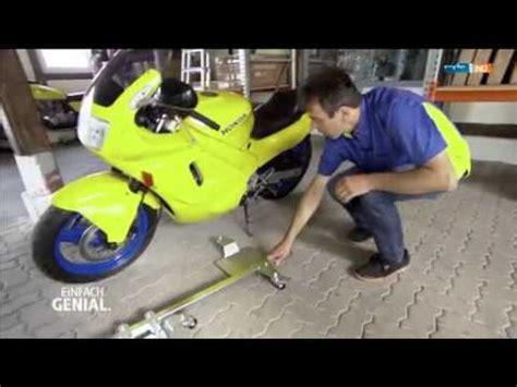 Motorrad Rangierhilfe Youtube by Tv Bericht Mdr Einfach Genial Rangierhilfe F 252 R Motorr 228 Der
