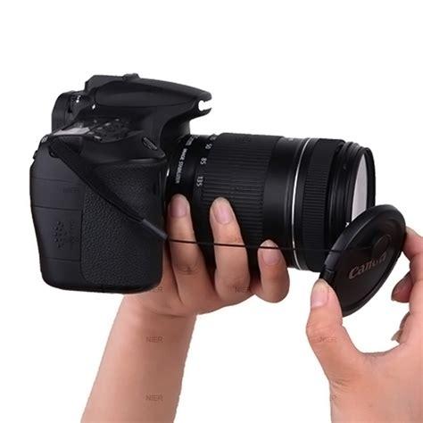Lensa Kamera Lensa Kamera Lens Cameras 58mm Mount 16 3 x lens cap cord lens cap mount lens cap cover 52mm 58mm
