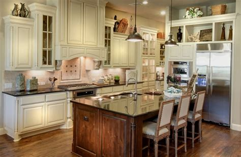 Bone Color Kitchen Cabinets Should Cabinets Match Throughout House Burrows Cabinets Central Builder Direct Custom