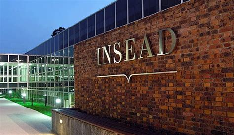 What Is Insead Mba Like by Top Ten Business School Rankings Of 2015