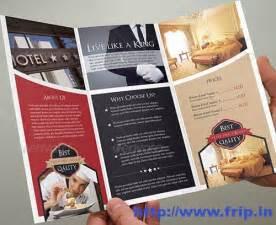 50 best hotel brochure print templates 2016 frip in