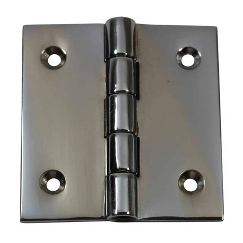 Chrome Cabinet Hinges by Cabinet Hinges Bright Chrome Square 2 Quot X 2 Quot