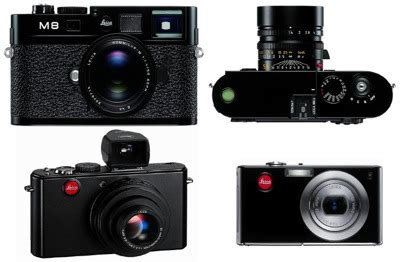Leica D 3 Ultracompact Digicam Packs In 10 Megapixels by Leica Announces Three New Digital Cameras M8 2 D 4