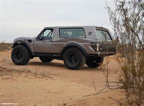 Build A Ford How To Build A Ford Bronco Prerunner In F150 Raptor Style