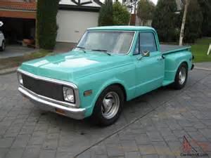 chev 1972 chevrolet rhd c10 stepside truck turbo diesel